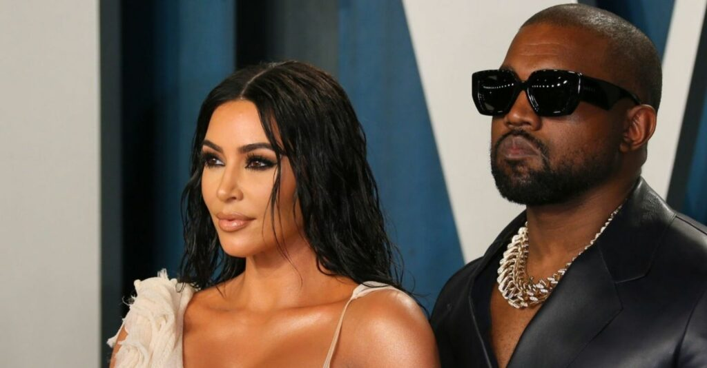 What does Kanye West say about Kim Kardashian on his new album 'Donda'?